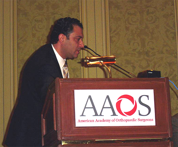 chirurgien-mourad-kassab-conference-AAOS-American-Academy-of-Orthopaedic-Surgeons